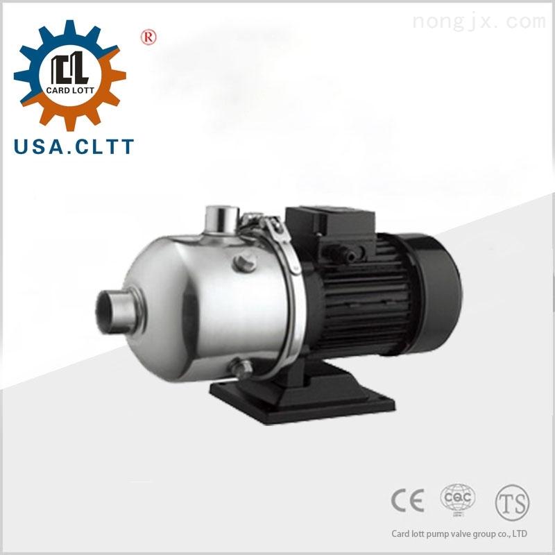 美国卡洛特进口轻型卧式段式多级泵