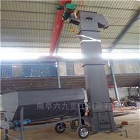 水泥粉提升机 环链斗式给料机Lj1瓦斗上料机