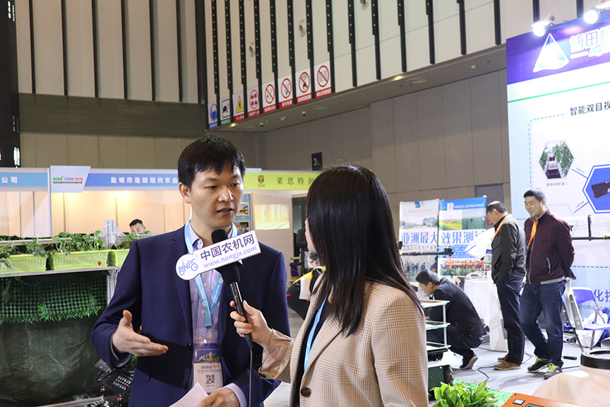 江苏国际农机展:博田自动化力争实现整体机器人化解决方案