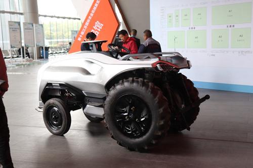 山西农博会现代农机装备展区准备工作就绪