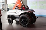 山西農博會現代農機裝備展區準備工作就緒