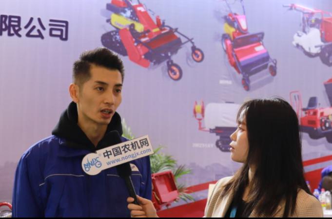 专访筑水农机(常州)销售部副部长何禹
