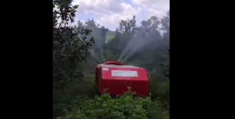 寶雞博通智能裝備海南柚子園作業視頻